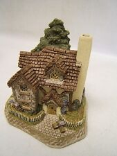 "David Winter 1998 Guild "" Mistletoe Cottage"" Coa #D1028 England Vgc"