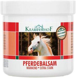 Balsamo del cavallo gel riscaldante extra forte 250 ml, per la Cura del corpo