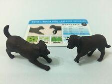 Noah's Pals Animal figure 1/24 Two Dogs David Denise Labrador Retriever