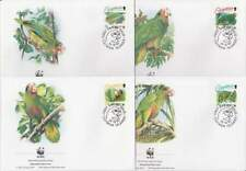 WWF 4 x FDC Cayman Islands 1993 - Vogels / Birds (163)