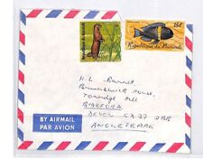 BQ50 World Airmail 1976 Republic of Burundi Cover Devon FISH PTS