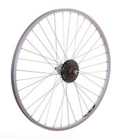 700c REAR Hybrid Bike / Cycle Wheel + 6 Shimano Speed Freewheel