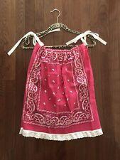 NEW!!  Handmade Pink Bandana Dress For Kids or Small Women's Top