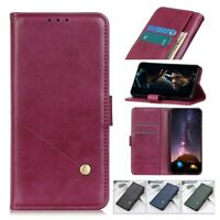 Case For OPPO Reno 4 3 2 Ace 2 Phone PU Leather Flip Card Wallet Stand Cover