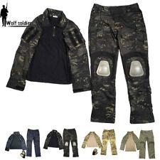 Mens Military Tactical Gen3 Combat Suit Shirt Pants Army BDU Uniform Camouflage