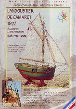 """LANGOUSTIER DE CAMARET """"YANN ET GAEL"""", 1927  - KIT SOCLAINE 1/50 Réf. YG1000"""