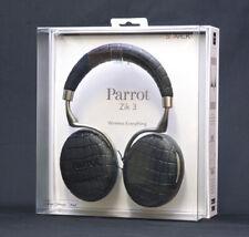 Parrot PF562100 Zik 3 Croc Black Bluetooth Headphones surround 5.1 + IQ Charger