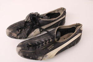 Vintage Puma Olympia Sprint Cycling Shoes Clipless Great Display Piece Racing