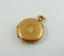 Damen Taschenuhr Gold 585 um 1880 (D391)