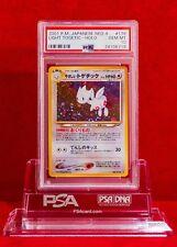 PSA 10 GEM MINT Japanese Light Togetic Holo (No. 176) Pokémon Neo Destiny