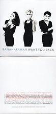 CD Single BANANARAMA  I WANT YOU BACK (1988) 12-TRACK CARD SLEEVE REMIXES