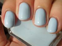 Smalto Unghia Polish Colore Azzurro Pastello Resistente Effetto Gel Mani e Piedi