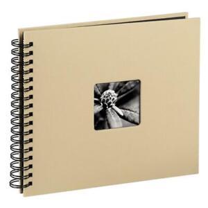 Hama Spiral-Album / Fotoalbum Fine Art  28 x 24 cm taupe 113681