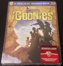 THE GOONIES Blu-Ray SteelBook Italy Exclusive Region Free All Stickers OOP Rare