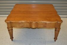 """Ethan Allen Legacy Coffee Table Maple #13-8400 #213 Russet circa 2001 Table """"A"""""""