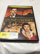 GONE WITH THE WIND - CLARK GABLE / VIVIEN LEIGH - 2 DISC DVD Pal R4 - LIKE NEW