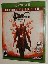 Devil May Cry DmC Definitive Edition (Xbox One) NEW SEALED - Capcom Video Game