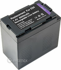 Hi-Capacity Battery for Panasonic CGR-D54 AG-DVX100B AG-HVX200 CGR-D16S CGR-D220