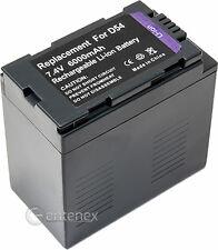 Hi-Capacity Battery for Panasonic CGR-D54 AG-DVX100B AG-HVX200 CGR-D16S CGR-D220