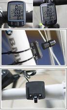 Waterproof LED Computer Speedometer Odometer BackLight Meter for Bicycle Bike 1X