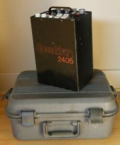 Speedotron 2405 Studio Strobe Flash Pack Black Line + Doskocil Hard case