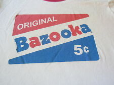 BAZOOKA TEE SHIRT LADIES SMALL CLEAN CHEW IT !!!