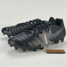 NEW Nike Tiempo Legend 7 Pro Leather FG Soccer Cleat Black AH7241-001 Men's 8