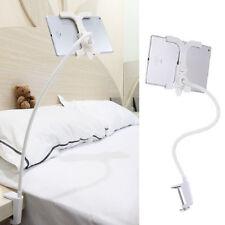 """360° Bett Halterung Ständer Halter für iPad 2 3 4 Samsung Tablet 8""""-11"""" weiß"""