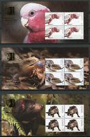 Australia 2019 MNH Fauna Singpex 5x 4v M/S Birds Lizards Wild Animals Stamps