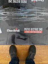 Char Broil TRU InfraRed Patio Bistro Outdoor 1,750 Watt Electric Grill, Gray
