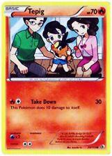 Tepig 25/113 B&W Legendary Treasures Common PERFECT MINT! Pokemon