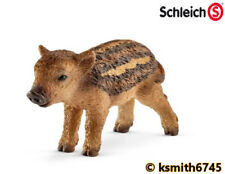 Schleich WILD BOAR PIGLET solid plastic toy wild zoo animal swine pig * NEW 💥