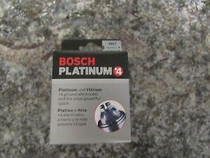 BOSCH GERMANY PLATINUM+4 SPARK PLUG 4-PCS FGR7DQP 4417