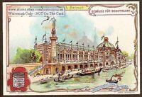 Paris Exposition 1900: Palace Of Navigation 1900 Trade Ad Card