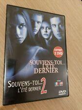 Souviens toi l'été dernier 1 et 2-Coffret Collector 2 DVD -1998 et 1999