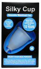 Silky Cup Reusable Menstrual Cup Size - M For Women Up To The Age Of 30 Years