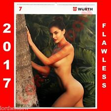 Wurth Sexy Erotic Photo Wall Calendar Girls 2017 Pinup Bikini Swimsuit Models