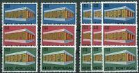 5 x Portugal CEPT Nr. 1070 - 1072 postfrisch Michel 150,00 € MNH 1969 Europa