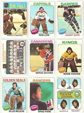 1975-76  TOPPS  PT SET 262/330, w STARS, HOFERS & RC!!  80% OF THE SET!!