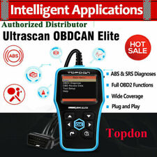 Topdon Elite OBD2 EOBD CAN Code Reader Diagnostic Scanner ABS Airbag Reset Tool