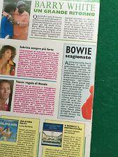 BB85 Clipping Ritaglio (1987) 28x22 cm 1 pag - SABRINA SALERNO VASCO ROSSI