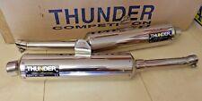 TDM 900 RN08 RN11 Auspuff Satz THUNDER Schalldämpfer ABE muffler exhaust i2184