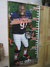 Chicago Bears Tommie Harris 6 Foot Poster (uncirculated radio talk show poster)