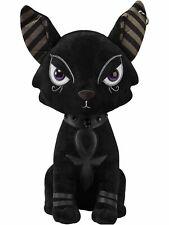 Peluche chat égyptien noir Bast piercing gothique satanique déco dark Killstar