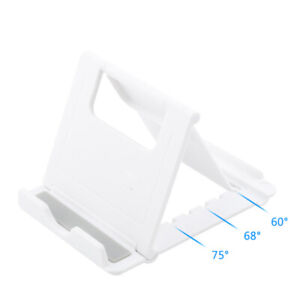 Folding Multi-Angle Portable Holder For iPad Tablet iPhone Desk Stand Phone