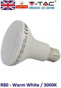 10W = 75W LED R80 Edison Screw ES E27 Reflector Spotlight Warm White 75 Watt