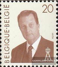 Bélgica 2611 (compl.edición) nuevo con goma original 1994 rey Albert II.
