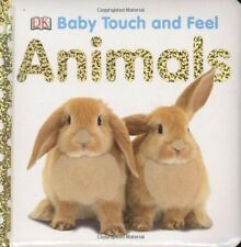 Animals, Baby Touch and Feel, by DK Publishing, Board Book, New, Free Shipping