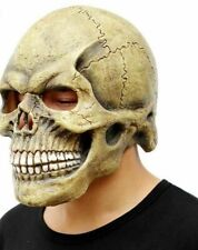 Latex Skull Mask Day of the Dead Mens Overhead Scary HALLOWEEN Deluxe Masque