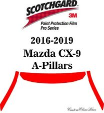 3M Scotchgard Paint Protection Film Pro Series 2016 2017 2018 2019 Mazda CX-9